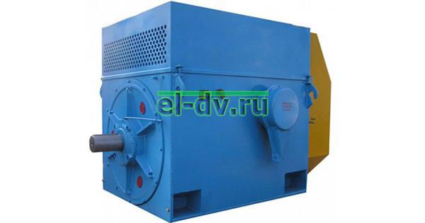 Электродвигатель асинхронный А4-450 6000В IP23