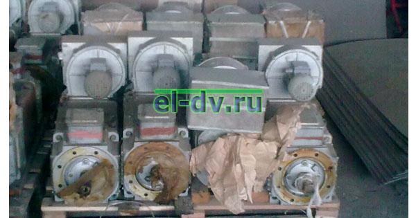 Электродвигатели постоянного тока 4ПФ132LВБ04 с консервации