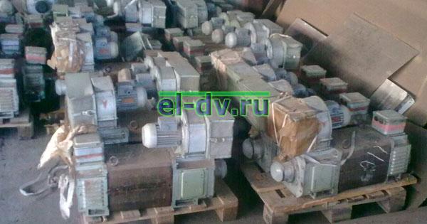 Электродвигатели 4ПФМ132 18,5 кВт с хранения