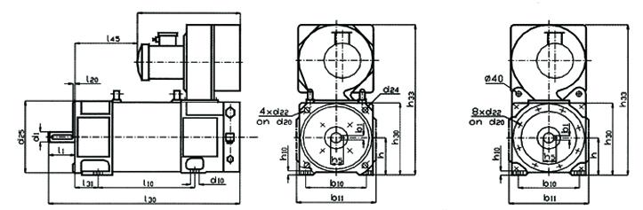Электродвигатели МР112S