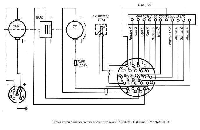 Схема подключения двигателя постоянного тока к станку