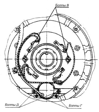 Схема подключения электродвигателя постоянного тока МТА
