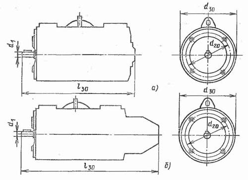 Электродвигатели и генераторы 2ПН фланец IM381