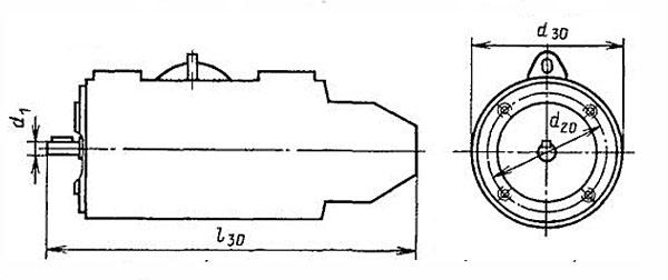 Электродвигатель ПБСТ фланец IM3601, IM3011