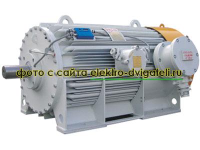 Трехфазный взрывозащищенный электродвигатель ВАО2
