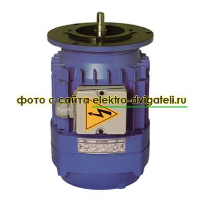 Электродвигатели АК для тельферов и кранбалок с тормозом
