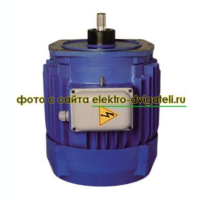 Размеры электродвигателей KV производства Болгарии