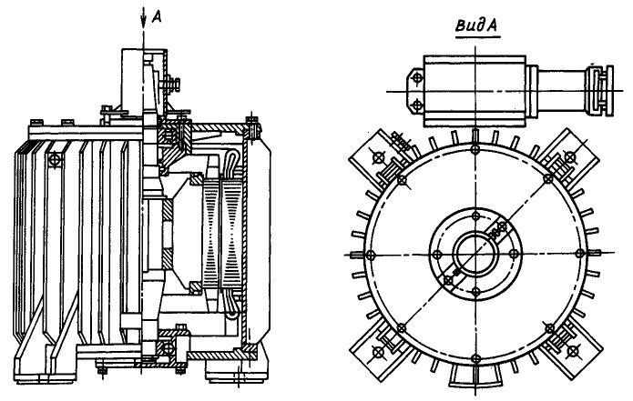 Размеры электродвигателей ВАСО