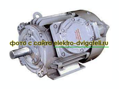Взрывозащищенный электродвигатель 2ВР, 2В