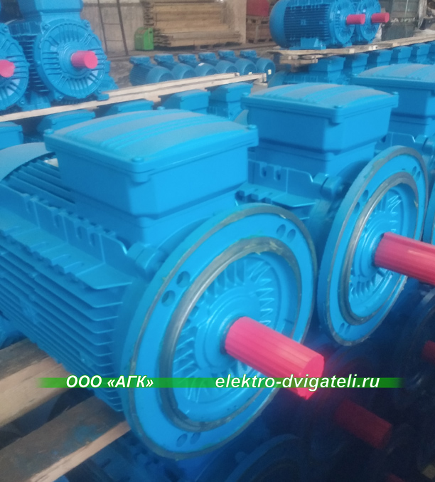 Электродвигатели 30 кВт