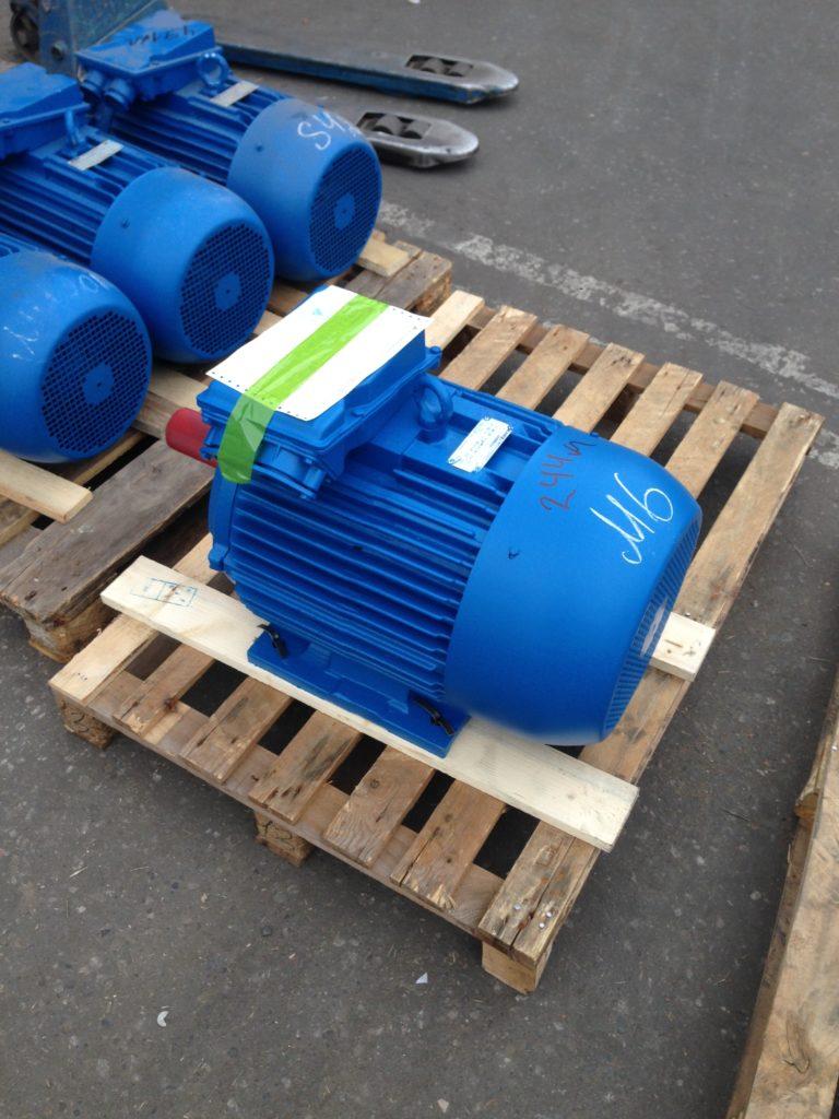 Электродвигатель 55 кВт 1000 об/мин