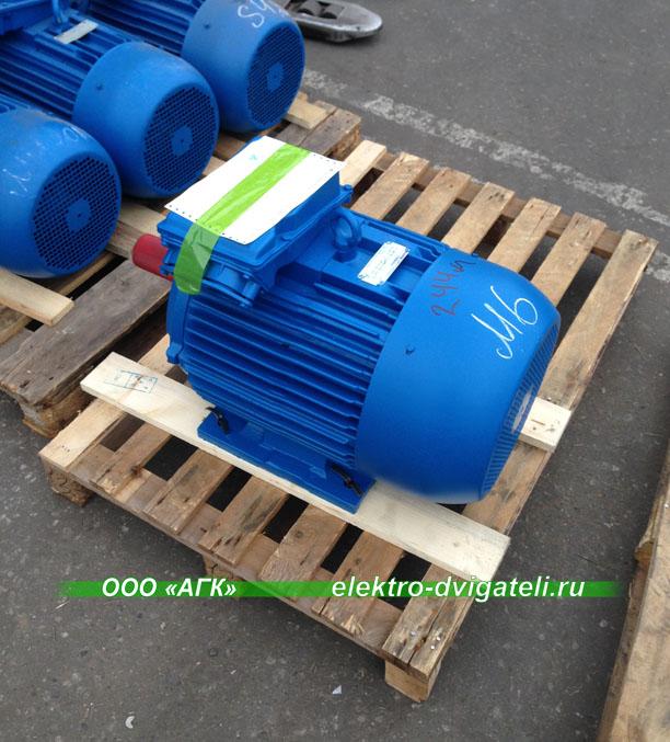 Электродвигатели АИР132М6