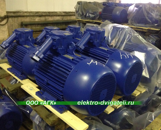 Электродвигатели ВА 11 кВт