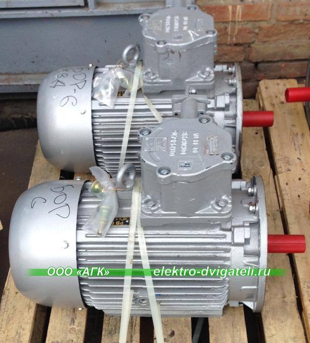 Электродвигатели ВРА 55 кВт
