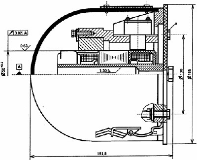 Тахогенератор ТС1М