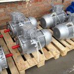 Рудничные взрывозащищенные двигатели ВРА
