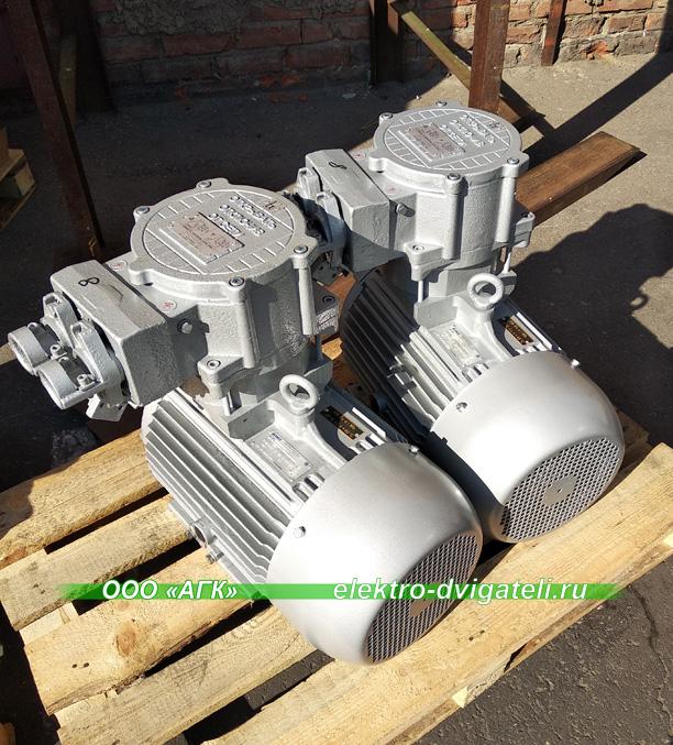 Электродвигатели рудничные ВРА